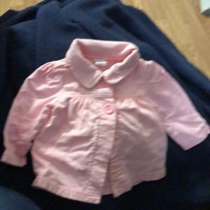 Infant cotton jacket
